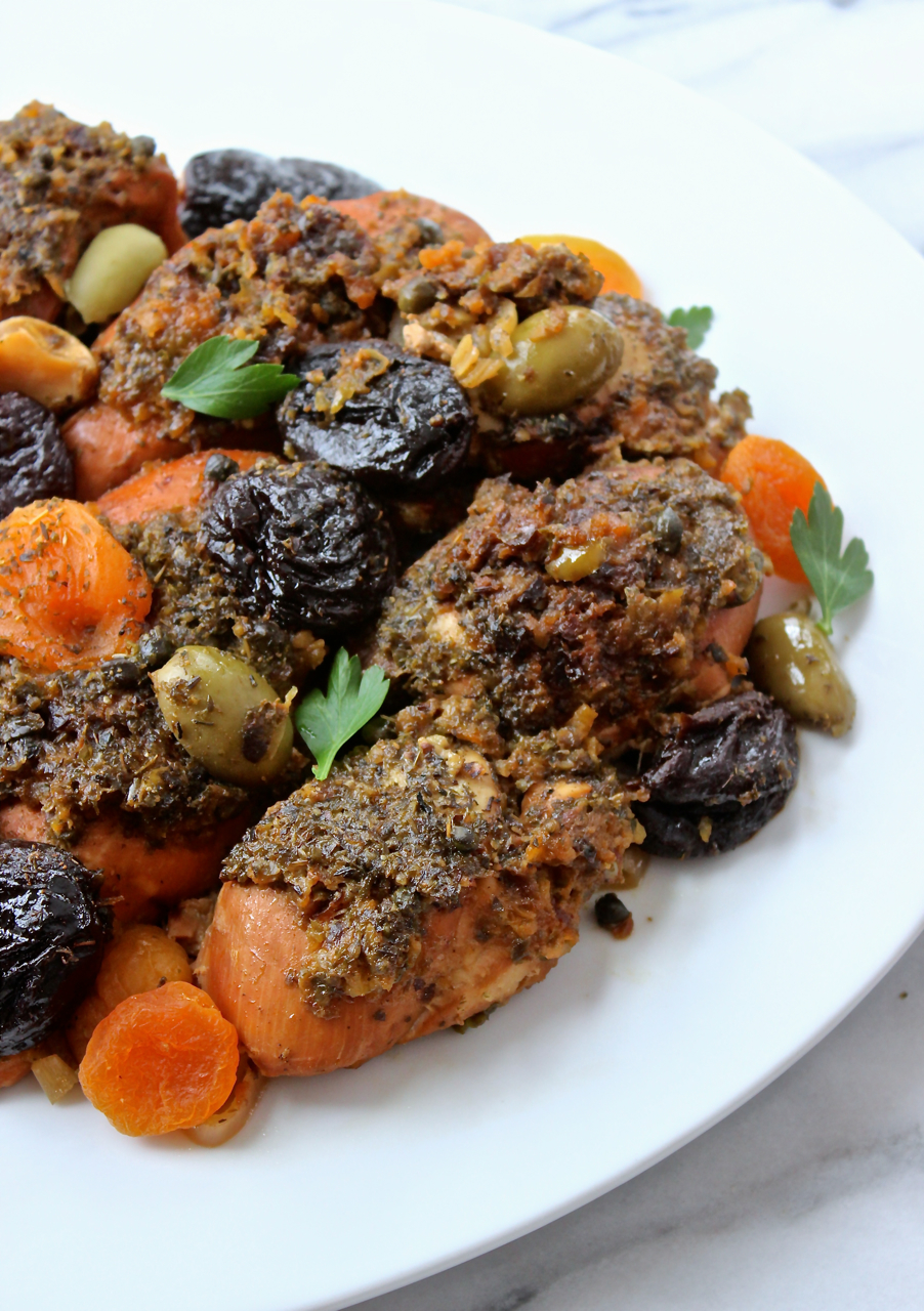 Forum on this topic: Slow Cooker Chicken Marbella, slow-cooker-chicken-marbella/